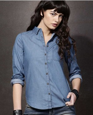 Sexy-Women-Blue-Solid-Casual-Shirts-RO-3335-20-(1)
