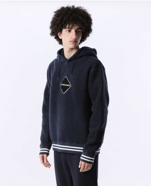 Shearling Polartec Fleece Pullover Hoody
