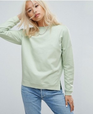 Side Slits Brand Your Own Women Sweatshirt