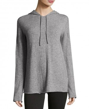 Silk Light Gray Hoodie