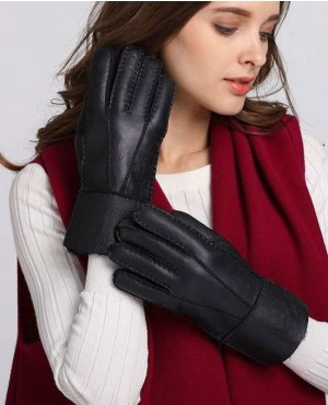 Simple Fashion Winter Women Gloves Windproof