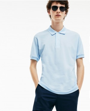 Simple Style And Trendy Sky Blue Polo Shirt