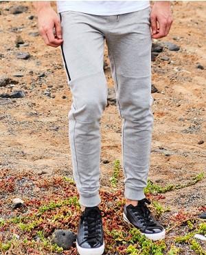 Skinny Fit Zip Joggers