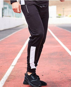 Skinny Fit Panel Joggers RO 103227 (1)
