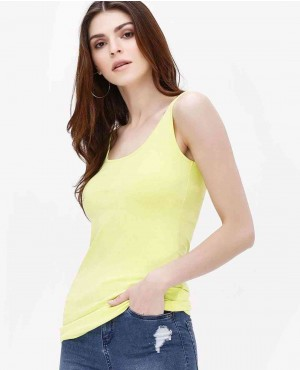 Slim Fit Hot Back Tank Top