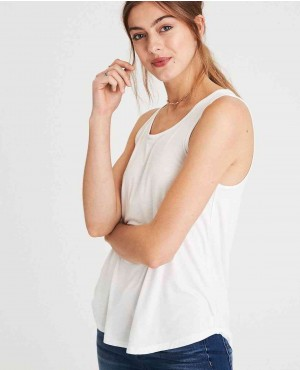 Soft Trendy Curved Hem Tank Top