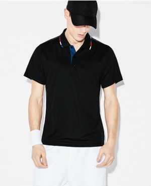 Sport Piped Technical Pique Tennis Polo