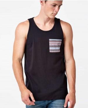 Striped Pocket Tank Top