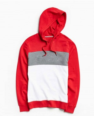 Stylish Colors Blocks Sweatshirt Hoodie