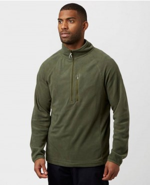 Stylish Half Zip Fleece Jacket