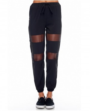 Stylish Hot Mesh Sweatpant