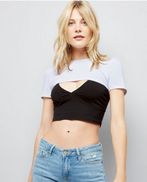 Super Short Hot Looking Crop Top