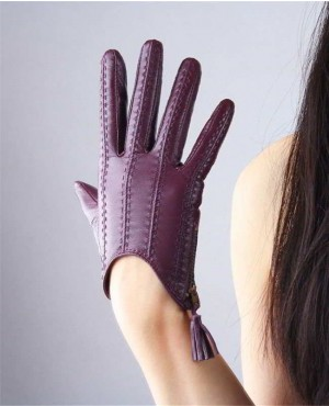 Touchscreen Gloves Genuine Leather Imported