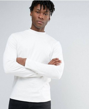 Turtleneck Long Sleeve T Shirts