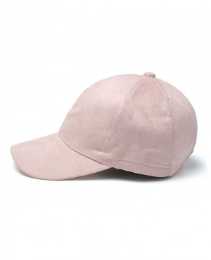 Unisex Faux Suede Leather Fitted Baseball Adjustable Plain Sports Cap