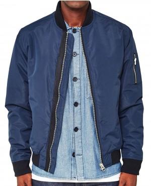 Varsity Bomber Jacket
