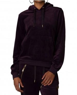 Velour Velvet Custom Pullover Hoodie