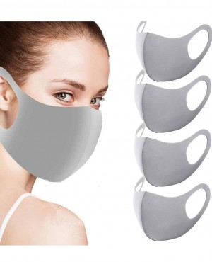 Washable Reusable Anti Dust Protective Face Masks for Men and Women Grey