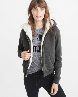 Wholesale And Custom Made Hoodie With Inside Fur