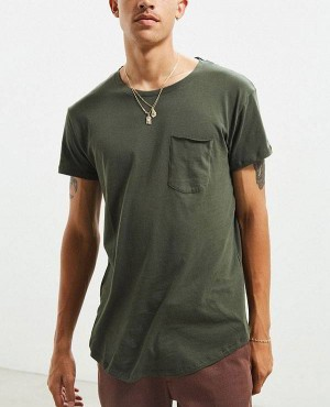 Wholesale And Trendy Custom T Shirt Curved Hem