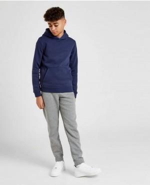 Wholesale Navy Color Cotton Fleece Kids Blank Pullover Hoodie And Sweatshirt