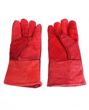Wholesale Pair Welders Welding Glove Geniune Lather Work Gloves