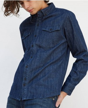 Wholesale-Skinny-Denim-Buttoned-Shirt-RO-2359-20-(1)