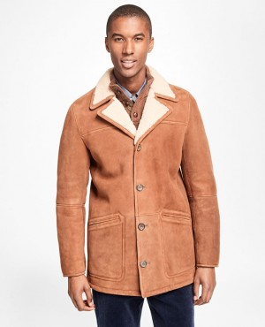 Wholesale-White-Shearling-Brown-Leather-Coat-Jacket-For-Men-RO-3639-20-(1)