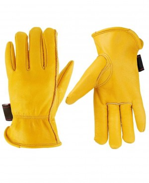 Winter Warm Work Gloves Thinsulate Lining Perfect for Gardening