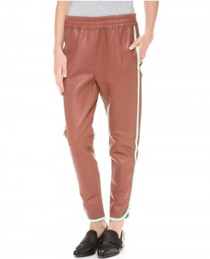 Women Casual Leather Pant