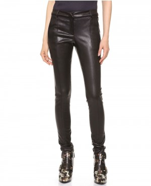 Women Classical Leather Pant