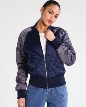 Women Custom Apparels Bomber Padded Jacket