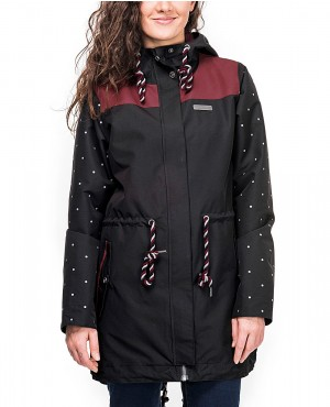 Women Custom Colors Windprof Coach Long Jacket