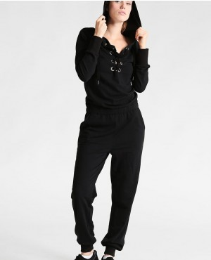 Women Custom Lace Up Tracksuit