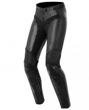 Women Hot Selling Moto Leather Pants