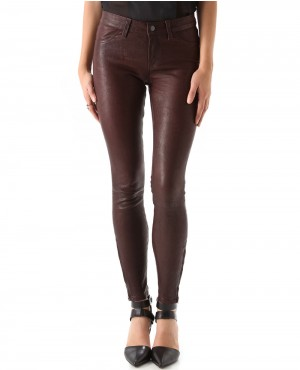 Women Jean Pant with Back Standard Pockets