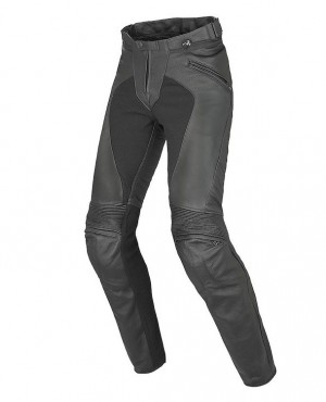 Women Leather Racing Pants