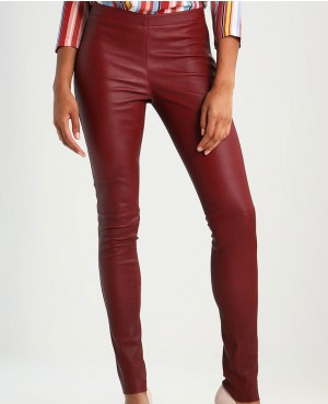 Women New Custom Leather Trousers