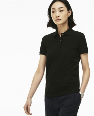 Women Petit Pique Polo Shirt