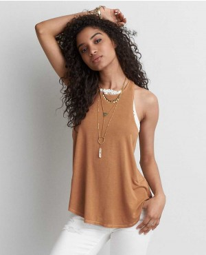 Women Simple Style Tank Top