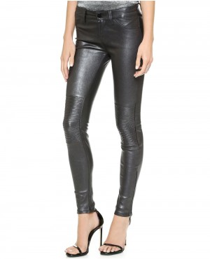 Women Standard Leather Pant