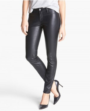 Women Style Faux Leather Skinny Pants