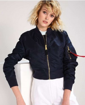Women Stylish Wholesale Custom Order Bomber Jacket