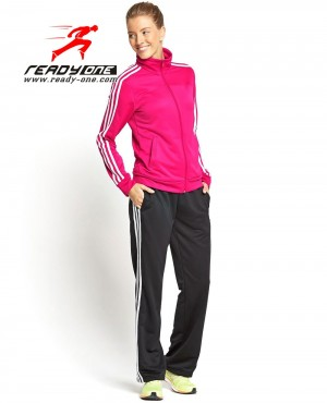 Women Two Color Tracksuit