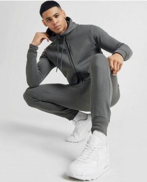 Zipper Through Hood Customizable Sweatsuit