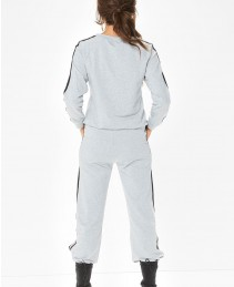 New-Women-Activewear-Sports-Grey-Side-Stripe-Tracksuit-RO-3293-20-(1)