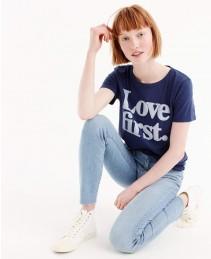 Women-Navy-Blue-Love-first-T-Shirt-RO-2559-20-(1)