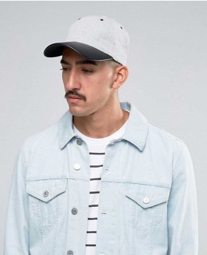 Baseball-Cap-In-Grey-With-Contrast-Peak-RO-102878-(1)