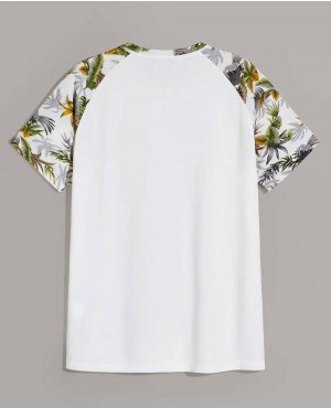 Beach-Tropical-Print-Raglan-Sleeve-Tee-RO-102-19-(1)
