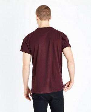 Best-Quality-Burgundy-Embroidered-Scorpion-T-Shirt-RO-2136-20-(1)